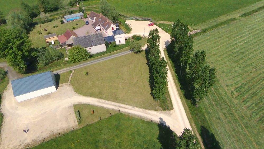 Aire camping-car à Linières-Bouton (49490) - Photo 1
